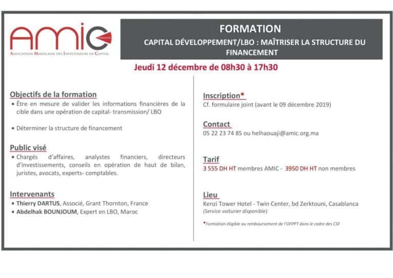 Capital développement / LBO : Maîtriser la structure du financement