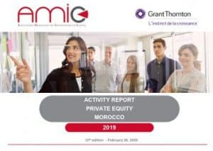 Annual Activity Report Private Equity in Morocco