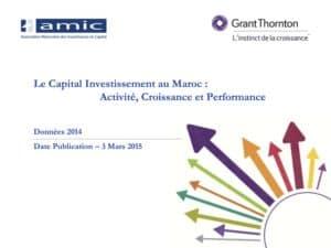 Le Capital Investissement au Maroc : Activité, Croissance et Performance