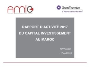 Rapport d'activité : Capital Investissement au Maroc