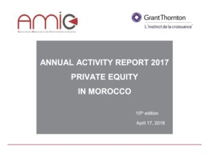 Activity report : Private Equity in Morocco